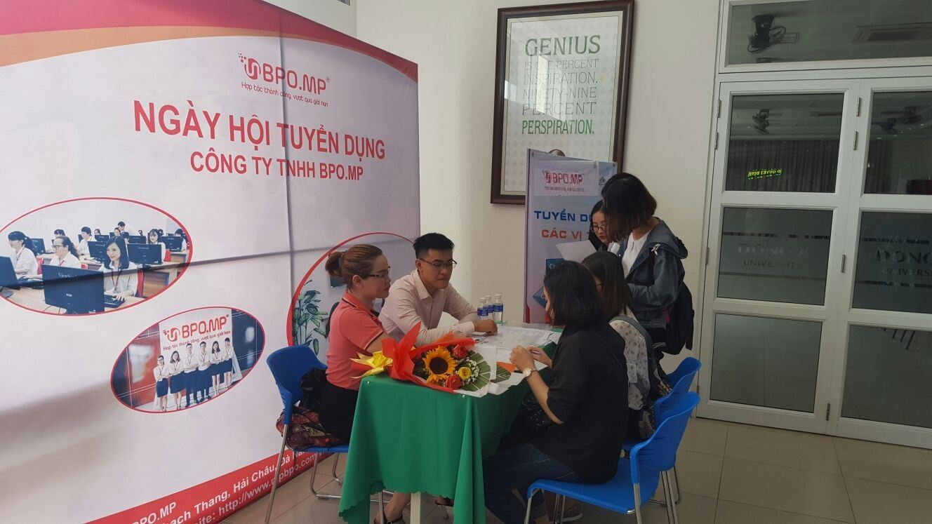 BPO.MP Participated In Recruitment Day At Dong A University In July, 2018