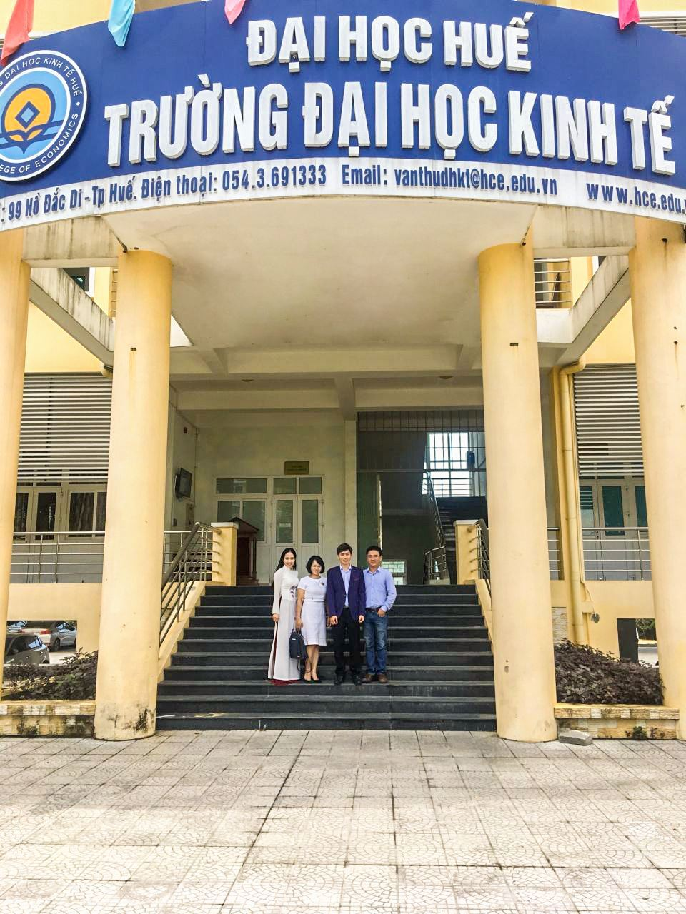BPO.MP Attended The Career Workshop In Hue College Of Economics