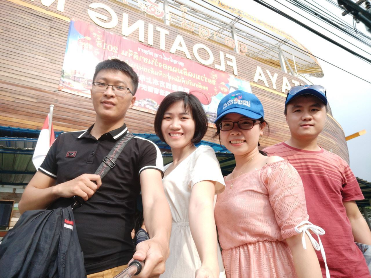 BPO.MP Excellent Project Staff Travelled To Thailand