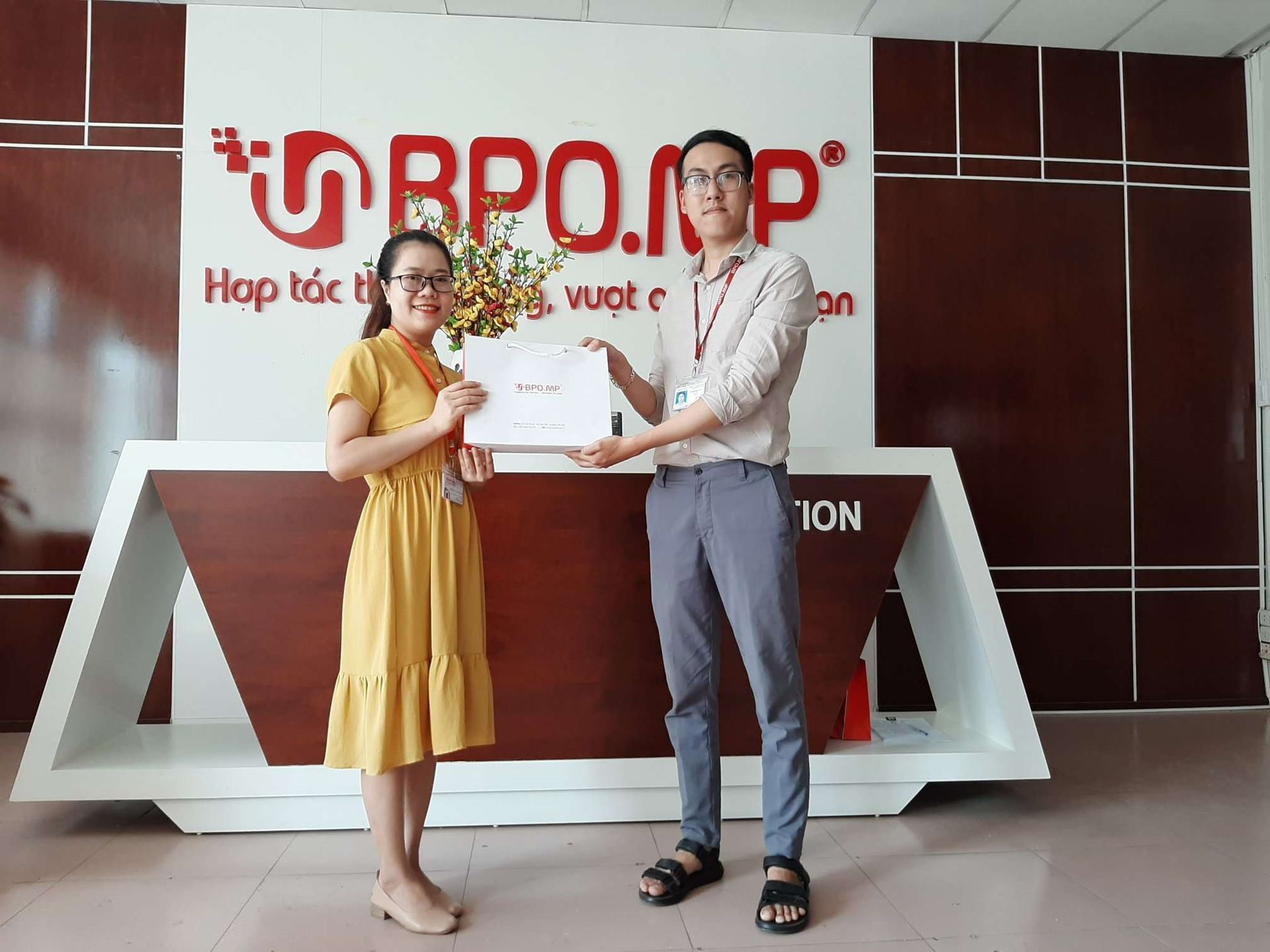 BPO.MP GIVES BIRTHDAY GIFTS TO EMPLOYEES